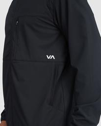 10 VA Sport Yogger II - Chaqueta deportiva para Hombre Negro Z4JKMHRVF1 RVCA