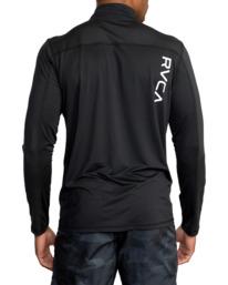 1 Sport Vent Zip - Haut de sport manches longues pour Homme Noir Z4KTMFRVF1 RVCA