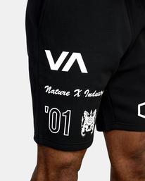 7 VA Sport IV - Short de survêtement pour Homme Noir Z4WKDBRVF1 RVCA