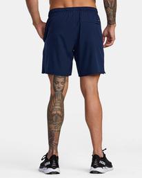 3 Yogger Stretch - Short de Entrenamiento para Hombre Azul Z4WKMGRVF1 RVCA