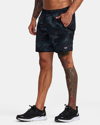 5 Yogger Stretch - Short performance pour Homme Camo Z4WKMGRVF1 RVCA