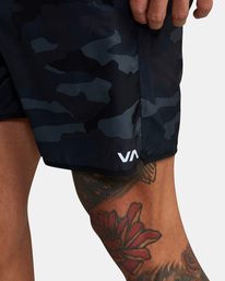 4 VA Sport Yogger IV - Short de Entrenamiento para Hombre Camo Z4WKMHRVF1 RVCA