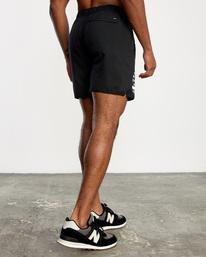 6 VA Sport Yogger IV - Short de Entrenamiento para Hombre Negro Z4WKMHRVF1 RVCA