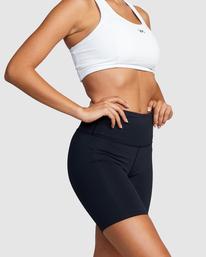 7 VA Essential Bike - Short deportivo para Mujer Negro Z4WKWARVF1 RVCA