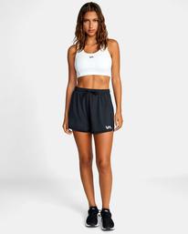 3 Womens Sport Vent - Short deportivo para Mujer Negro Z4WKWDRVF1 RVCA