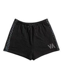 10 Matt Leines Hustle - Short deportivo para Mujer Negro Z4WKWJRVF1 RVCA
