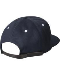 1 VA Univ - Strapback Cap for Men Blue Z5CPRRRVF1 RVCA