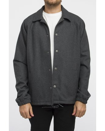 1 WRENCHMAN COACHES JACKET Gris A1JKRCRVW6 RVCA