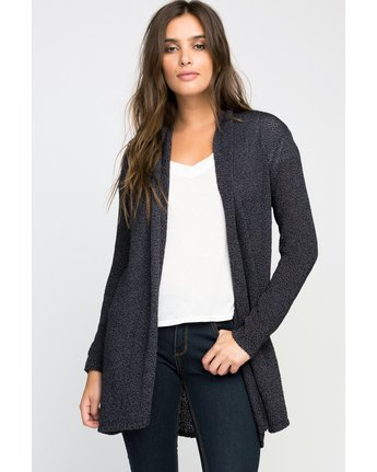 0 WRAP IT CARDIGAN  A3JPRARVW6 RVCA