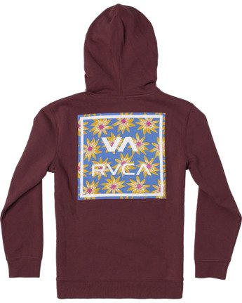 1 VA ALL THE WAY HOODIE  AVBFT00103 RVCA