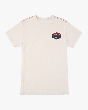 0 BOYS FOCUSED SHORT SLEEVE TEE White AVBZT00102 RVCA