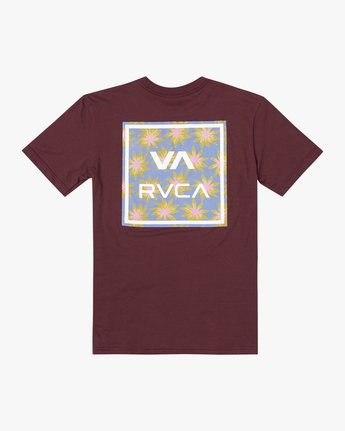 1 BOYS VA ATW SHORT SLEEVE TEE Red AVBZT00117 RVCA