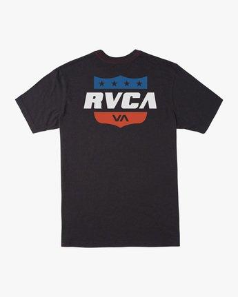 1 Boy's Rodeo Team Short Sleeve Tee  AVBZT00171 RVCA
