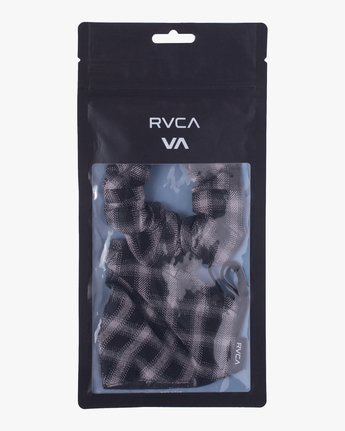 5 Mask and Scrunchie Set Black AVJAA00101 RVCA