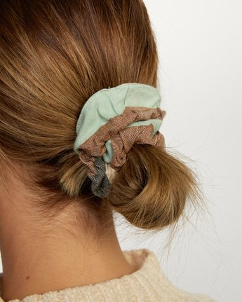 1 Mask and Scrunchie Set Grey AVJAA00101 RVCA