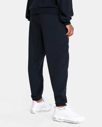 5 VA ESSENTIAL JOGGER SWEATPANTS Black AVJFB00104 RVCA