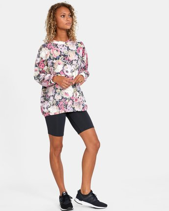 2 Rosebud Fleece Pullover  AVJFT00120 RVCA