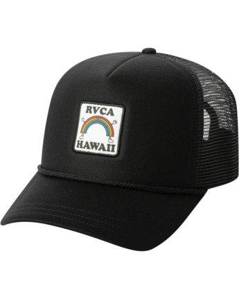3 Aloha Rainbow TRUCKER HAT  AVJHA00106 RVCA