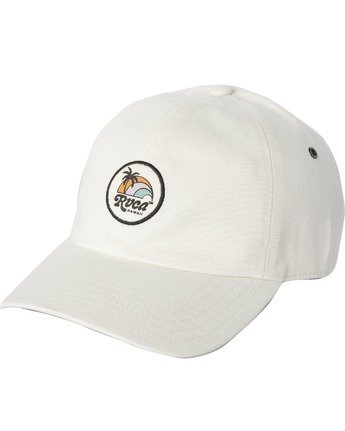 0 STAPLE TROPO HAWAII DAD HAT White AVJHA00112 RVCA
