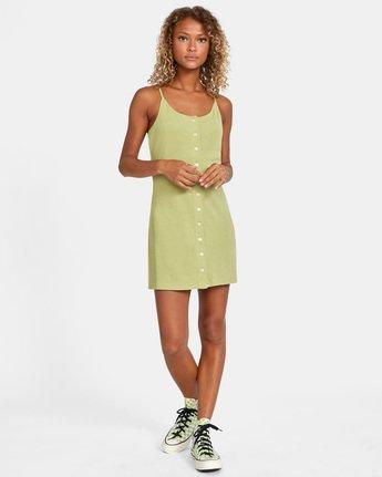 2 Save It Dress Green AVJKD00112 RVCA