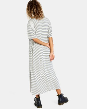 5 Anyday Tee Dress Brown AVJKD00119 RVCA