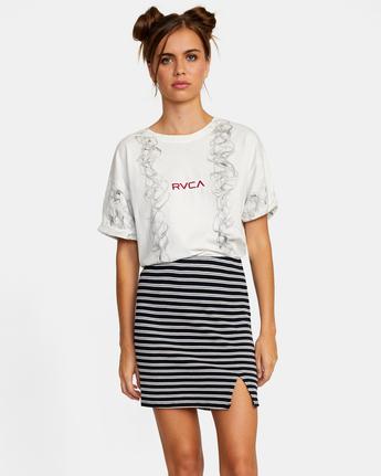0 Pace Skirt White AVJKK00101 RVCA