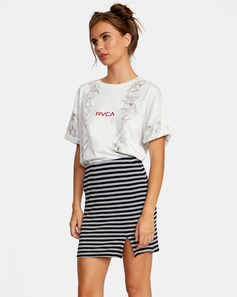 2 Pace Skirt White AVJKK00101 RVCA