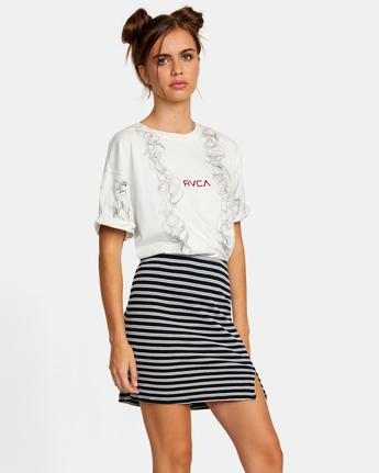 4 Pace Skirt White AVJKK00101 RVCA