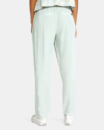1 BLANK SLATE RELAXED FIT PANTS Blue AVJNP00110 RVCA