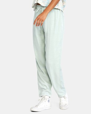 2 BLANK SLATE RELAXED FIT PANTS Blue AVJNP00110 RVCA