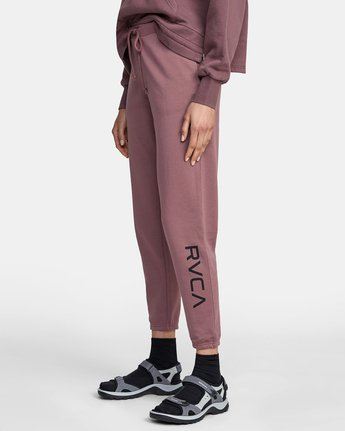 3 BIG RVCA SWEATPANT Purple AVJNP00117 RVCA