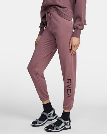 4 BIG RVCA SWEATPANT Purple AVJNP00117 RVCA