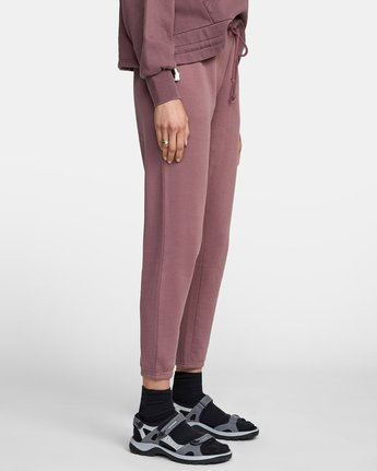 6 BIG RVCA SWEATPANT Purple AVJNP00117 RVCA