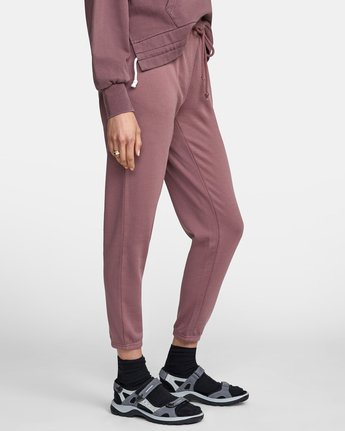 7 BIG RVCA SWEATPANT Purple AVJNP00117 RVCA