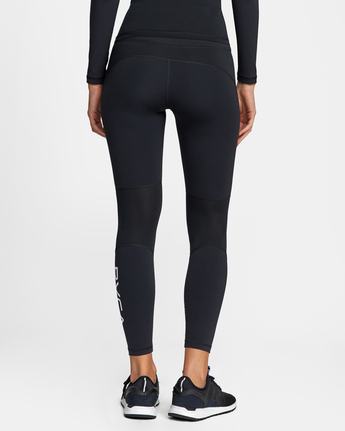 1 COMPRESSION SPORT LEGGING Black AVJNP00120 RVCA