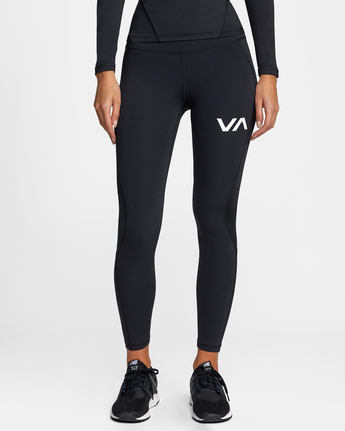 0 COMPRESSION SPORT LEGGING Black AVJNP00120 RVCA