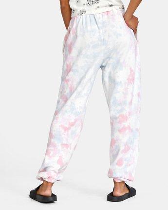 3 Little RVCA Pants White AVJNP00129 RVCA
