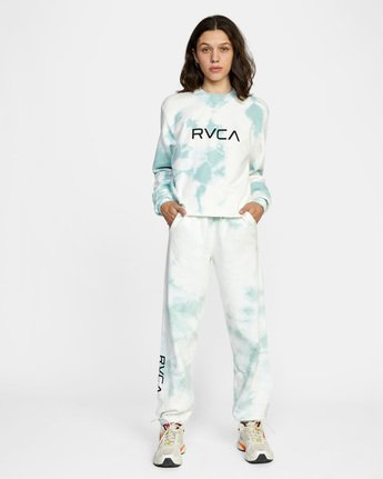 2 WoBig RVCA Sweatpant Blue AVJNP00153 RVCA