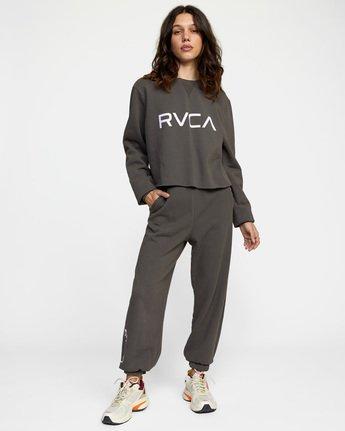 3 WoBig RVCA Sweatpant Black AVJNP00153 RVCA