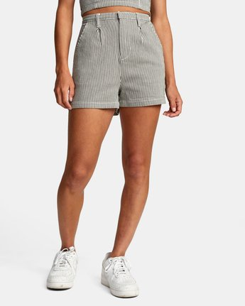 0 WILLOW HIGH RISE SHORTS Beige AVJNS00102 RVCA