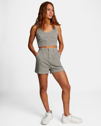2 WILLOW HIGH RISE SHORTS Beige AVJNS00102 RVCA
