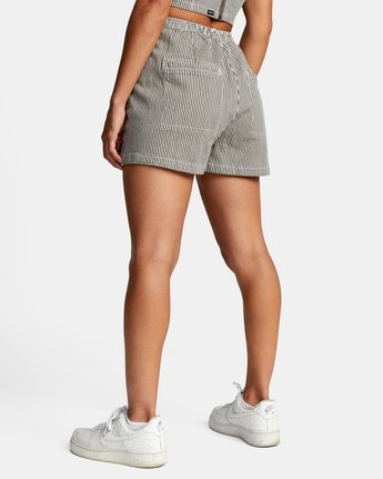 4 WILLOW HIGH RISE SHORTS Beige AVJNS00102 RVCA