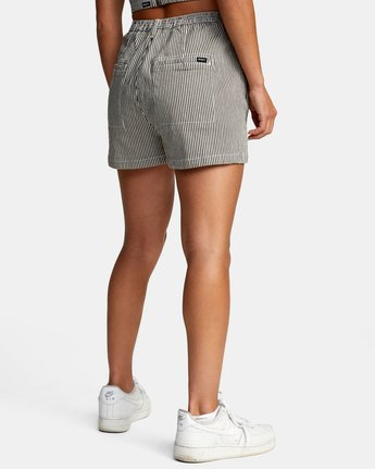 5 WILLOW HIGH RISE SHORTS Beige AVJNS00102 RVCA