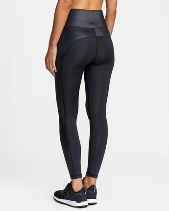 4 SKY HIGH SPORT LEGGING Black AVJNS00105 RVCA