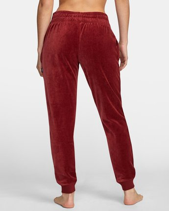 2 DAY OFF SWEATPANT Red AVJPT00100 RVCA