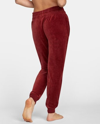 6 DAY OFF SWEATPANT Red AVJPT00100 RVCA