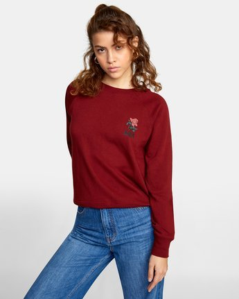 0 ROSITA PULLOVER SWEATER Red AVJSF00116 RVCA