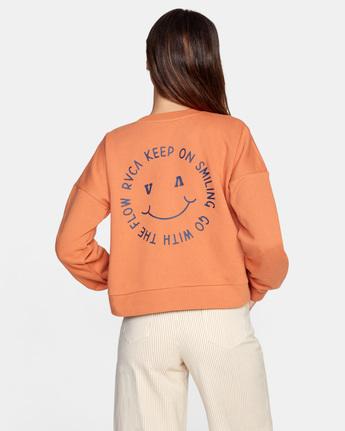 KEEP SMILING FLEECE  AVJSF00154