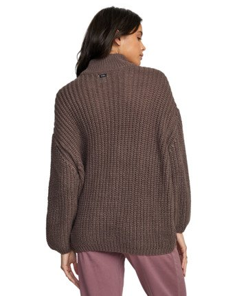 9 FITZ SWEATER Purple AVJSW00103 RVCA