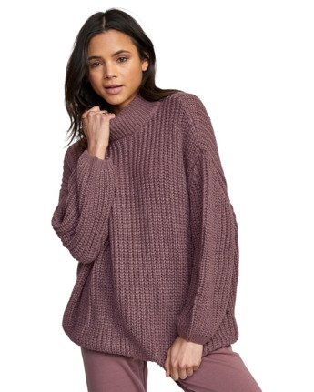 8 FITZ SWEATER Purple AVJSW00103 RVCA